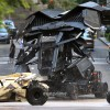 The Batwing on the set of 'THE DARK KNIGHT RISES' in Pittsburgh