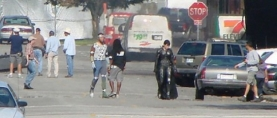 More 'MAN OF STEEL' set photos: Female Villain Revealed?