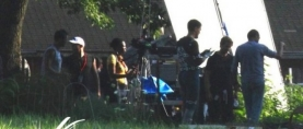 'MAN OF STEEL' set photos show SUPERMAN and GENERAL ZOD on the Kent Farm