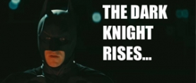 Funny meme for 'THE DARK KNIGHT RISES'