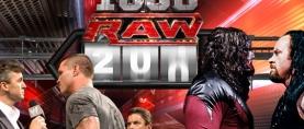WWE Monday Night Raw's 1000th episode
