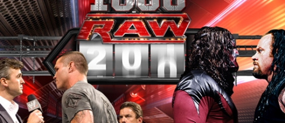 WWE Monday Night Raw's 1000th episode