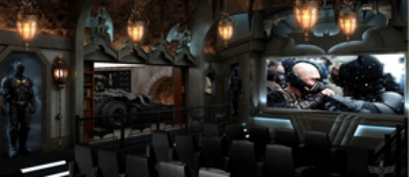 Cool Batcave Home Theater