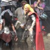 Set photos from 'THOR: THE DARK WORLD'