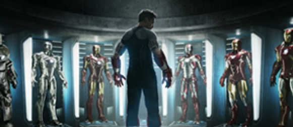 Official photos from 'IRON MAN 3'