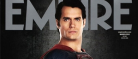 Henry Cavill as Superman on the cover of Empire Magazine