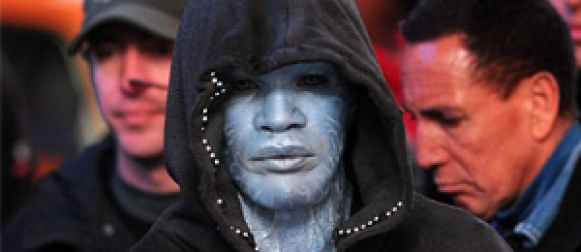 First look at Jamie Foxx as Electro