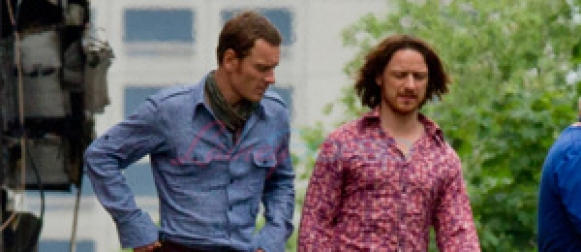 New set photos from 'X-MEN: DAYS OF FUTURE PAST'