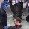 See Beast in action on the set of 'X-MEN: DAYS OF FUTURE PAST'