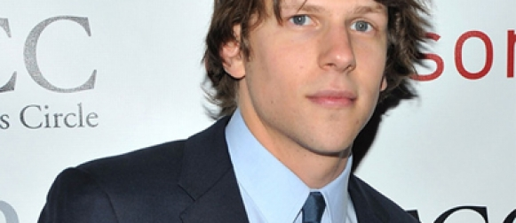 Jesse Eisenberg is Lex Luthor in 'BATMAN VS. SUPERMAN'