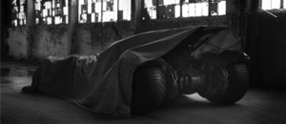 New Batmobile teased for 'Batman vs. Superman'
