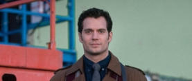 First look at Henry Cavill in 'DAWN OF JUSTICE'