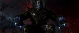First Look: Josh Brolin as Thanos