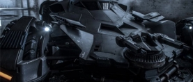 First Official Look At The 'DAWN OF JUTICE' Batmobile
