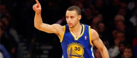Golden State Warriors guard Stephen Curry named NBA MVP